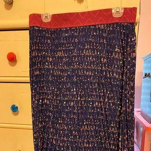 Lularoe pleated Madison skirt